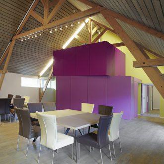 Architecure intérieure dans la salle de réunion