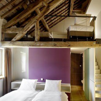 Architecture intérieure dans les chambres