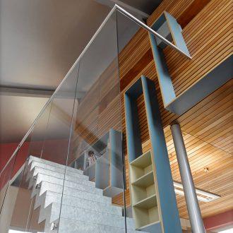Architecture intérieure escalier