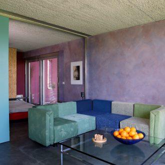 Architecture intérieure au niveau du salon
